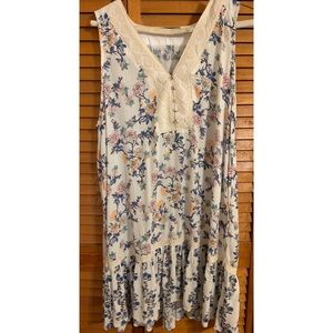 Bluheaven Floral Tunic Top NEW
